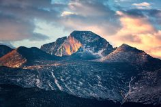 The Monarch of Rocky Mountain National Park #mountain