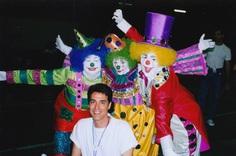 Clowns at disney