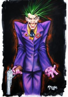 Joker comics art character by Diablo2003 #comic #superheroes #marvel #artist #comics