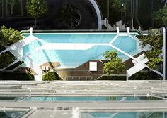 CJWHO ™ (The Pool at Pyne by T.R.O.P. Aerial photographs...)