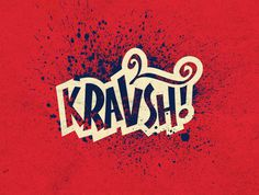 All sizes | kravsh! | Flickr Photo Sharing! #type #red #texture