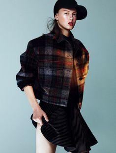 Various Models by Benjamin Lennox for Document Journal #model #girl #photography #fashion #winter
