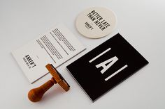 ANKER'T ruin bar indentity on Behance #drink #stamp #bar