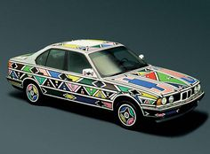 "8 Comments on ""BMW Art Cars – Your Suggestions Please..."" #bmw #ndebele #car"