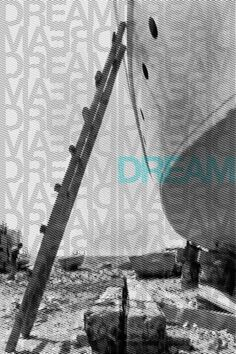 Visual Design #inspiration #halftone #hope #yashika #dream #texture #photography #poster