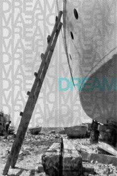 Visual Design #inspiration #halftone #hope #yashika #dream #texture #photography #poster