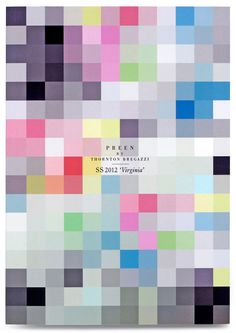 StudioThomson – Preen SS12 #graphics