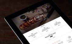 Re:public Restaurant & Bar « Superbig Creative #website #tablet #ipad #responsive #grid #clean #branding #identity #menu #restaurant #food