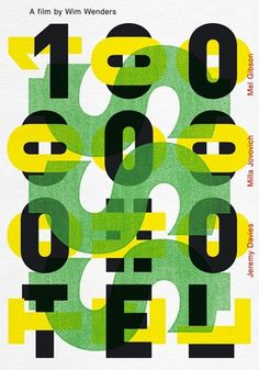 boris bonev - typo/graphic posters #typography #experimental #posters #type #face #green