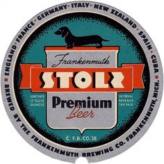 Stoli Premium Beer | Flickr - Photo Sharing! #beer #vintage #coaster