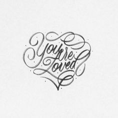 ❤️ In case you forget 😊 - #lettering #handlettering #goodtype #type #artoftype #typematters #thedailytype #typegang #loved #youarelov