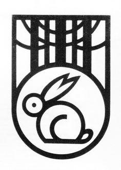 28 #logo #bunny