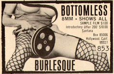 BOTTOMLESS BURLESQUE #burlesque #design #smut