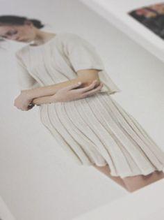Gather & Fold #fashion #model #photography #design