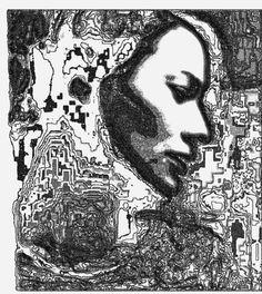 BIO MEKANIK 2 - DANIEL JOHANSSON #white #black #johansson #illustration #art #and #daniel