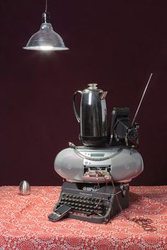 Tech Vanitas: Gray Typewriter - Jeanette May