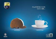 Platinum Club ad by ~Rashidy on deviantART #press #ad