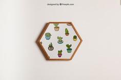Hanging hexagonal frame mockup Free Psd. See more inspiration related to Flower, Frame, Mockup, Floral, Wood, Template, Floral frame, Mock up, Plant, Decoration, Creative, Flower frame, Interior, Plants, Decorative, Wooden, Creativity, Pot, Hanging, Up, Decor, Wood frame, Flower pot, Hexagonal, Hang and Mock on Freepik.