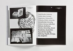Slanted - Typo Weblog & Magazin - Das Gefühl Typografie - Alles über Schriften, Fontlabels & Design #slanted #grotesque #design #graphic #magazine #typography