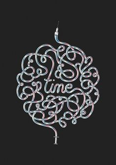 Time is a great healer #destill #poster