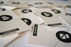 Tarjetas de presentación - BERNARDO RUIZ on the Behance Network #print #letterpress #mxico #monterrey #filomena