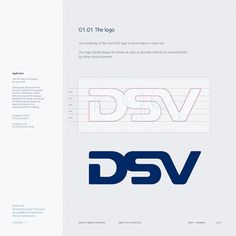 Corporate & Brand Identity - DSV, Denmark on the Behance Network #branding #guide #guidelines #corporate #style