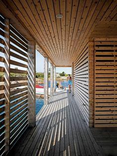 Floating House, Lake Huron - Slideshows - Dwell #lake #architecture #house