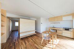 House in Sotobori by Camp Design inc