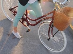 Vlinder blog | my world of design #vintage #retro #photography #bike #bicycle #summer #mint