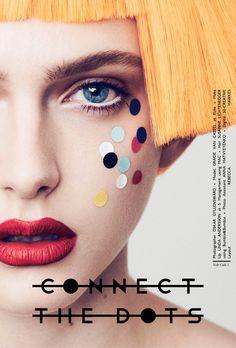 Connect the Dots Layout #volt #photography #fashion #voltcafe #magazine #beauty