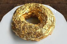 Meet The 24-Karat Golden Cristal Ube Donut