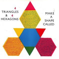 The Shape of Things: A Picture Book of Geometry by Karasz Ilonka, 1964