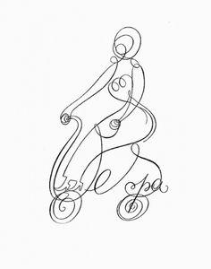 http://blog.andreasneophytou.com/ #calligraphy #vespa #line