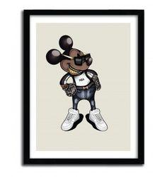 MK 2 by MAGO #print #disney #mickey #art