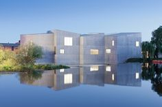 Dezeen » Blog Archive » The Hepworth Wakefield by David Chipperfield Architects