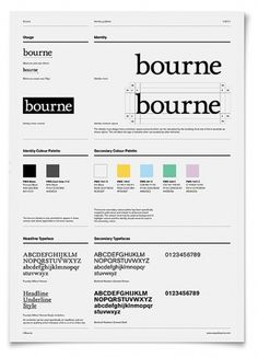 Onestep Creative - The Blog of Josh McDonald #typography #branding #identity #bourne