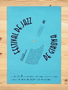 Festival de Jazz de Barcelona -Enserio #jazz #poster