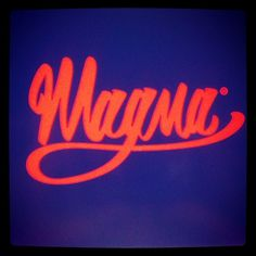 Instagram #lettering #magma #press #logo #hand