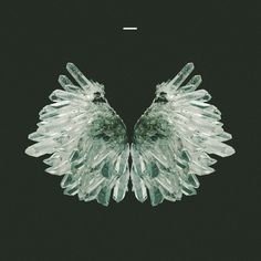 crystal wings. #quartz #album #modern #design #graphic #art #wings