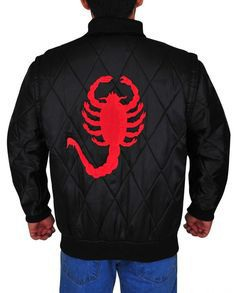 Ryan Gosling Scorpion Drive Logo Jacket