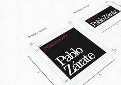 PabloZarate.com - Brand refresh #logo #design #branding #typography