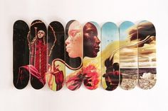 "Western Edition ""The Bitches Brew Series"" Skate Decks 