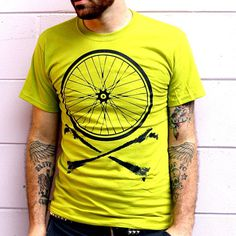 Bike T-shirt Design #fashion #illustration #design #tshirt