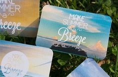Courtney Goodhart Graphic Designer #redesign #seasonal #home #gift #gracious #retail #type #beach #cards