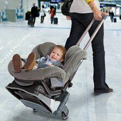 Brica Roll 'n Go Car Seat Transporter #tech #flow #gadget #gift #ideas #cool