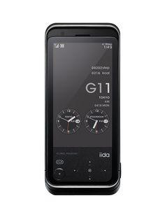 G11 | 携帯電話 | iida #cellphone #iida #interface #g11