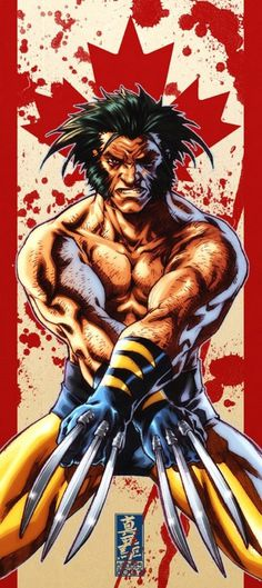 Wolverine comics art