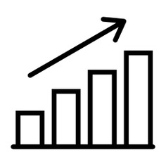 See more icon inspiration related to graph, graphic, statistics, business, growing, stats, bars and finances on Flaticon.