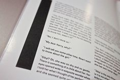 WILDE Magazine on Typography Served #white #black #and #wilde #magazine #typography