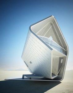 California Roll House By Christopher Daniel | Design Milk #desert #architecture #minimalism